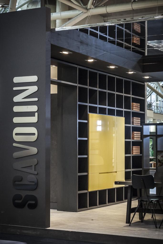 Scavolini fiera toronto 2015 biondi allestimenti for Scavolini milano