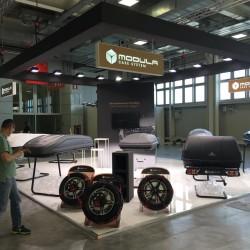 manifestazione Autopromotec 2019  stand MODULA